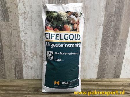 Eifelgold oergesteente bodemverbeteraar.