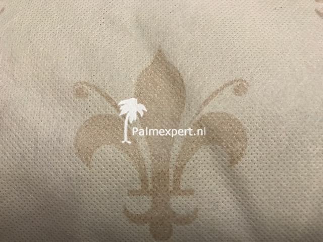 Winterhoezen met ritssluiting XXL 200 cm b x 240 cm h + lelieprint